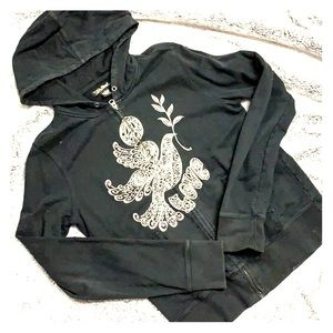 Lucky hoodie with dove